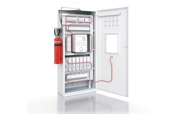 Instalatii automate pentru stingere incendii tablouri, panouri electrice, masini CNC Sistemele FIREDETEC utilizeaza un tub cu senzor linear continuu, care detecteaza caldura si activeaza eliberarea unui agent de stingere folosind tehnologia pneumatica.