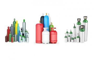 Butelii pentru gaze industriale si medicale Gazele precum oxigenul, azotul, argonul, hidrogenul şi heliul pot fi uşor comprimate în butelii, la presiuni de până la 300 bar.