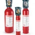 Agent de stingere: CO2 - Instalatii automate stingere incendii tablouri electrice