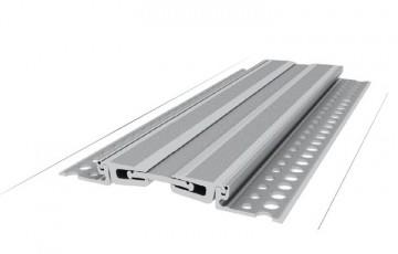 Profile de dilatatie din aluminiu Profilele Conecto sunt realizate dintr-un aliaj special din aluminiu, rezistent la uzura si deformare sub sarcini grele, forma lor permite utilizarea masinilor de curatare si nu colecteaza resturi.