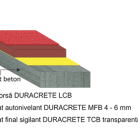 Pardoseala DURACRETE DPB-R 4/ 6 mm - Pardoseli din beton poliuretanic antibacterian