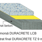 Pardoseala DURACRETE TZ 9 mm - Pardoseli din beton poliuretanic antibacterian