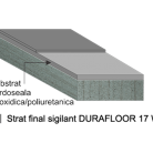 Pardoseala DURAFLOOR PU 17 W 0,15 mm - Pardoseli din rasini poliuretanice