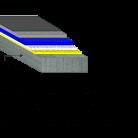 Pardoseala expoxidica DURAPARKING 55B OS 13 5 - 5 5 mm - Pardoseli pentru industria transporturilor