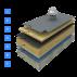 Reconditionare hidroizolatie, terasa vacuum, izolatie termica suport beton Reconditionare terase, acoperis expus