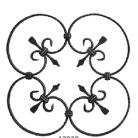 Ornament din fier forjat 13020 - Ornamente din fier forjat