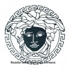 Rozeta tabla decupata Versace - Panouri si elemente din tabla decupata
