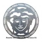 Rozeta tabla decupata Versace 01 - Panouri si elemente din tabla decupata