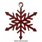 Ornament steluta - Elemente decorative din tabla decupata