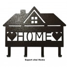 Suport chei Home - Elemente decorative din tabla decupata