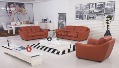 Canapele din piele pentru sufragerie CALIPSO Canapele din piele pentru sufragerie