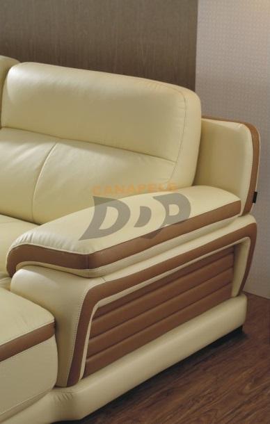 Coltar modern pentru living - detaliu cotiera KASSANDRA Coltar modern pentru living