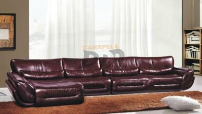Coltar din piele pentru sufragerie MOLINA Coltar pentru sufragerie