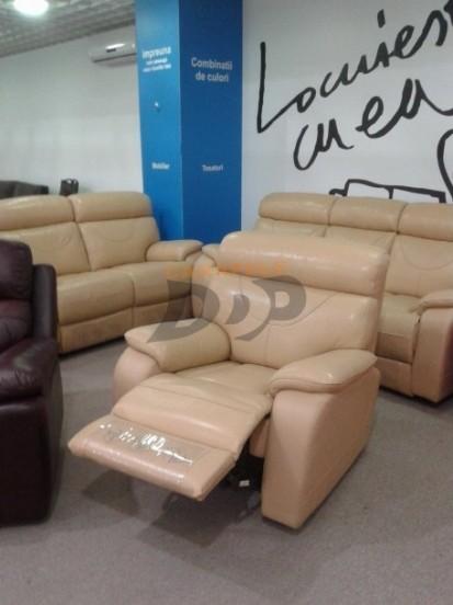 Set canapele si fotoliu - recliner extins OLIVIA Set canapele si fotoliu