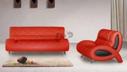 Canapele moderne din piele - rosu OPAL Canapele moderne din piele