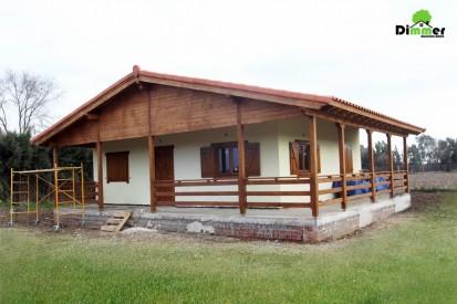 Casa din lemn / Casa din lemn Badajoz