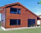 Case pe structura din lemn DIMMER