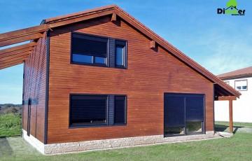Case pe structura din lemn DIMMER - Case pe structura din lemn. O optiune mai sanatoasa decat betonul.