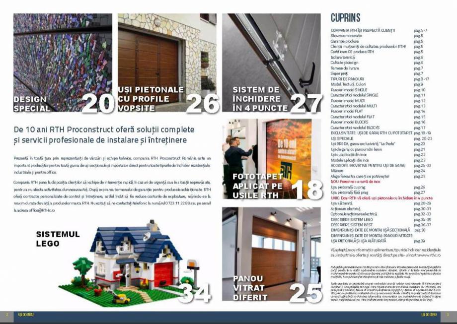 Pagina 2 - Usi de garaj rezidentiale Vindem Ieftin Catalog, brosura Romana