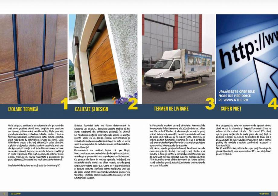Pagina 4 - Usi de garaj rezidentiale Vindem Ieftin Catalog, brosura Romana