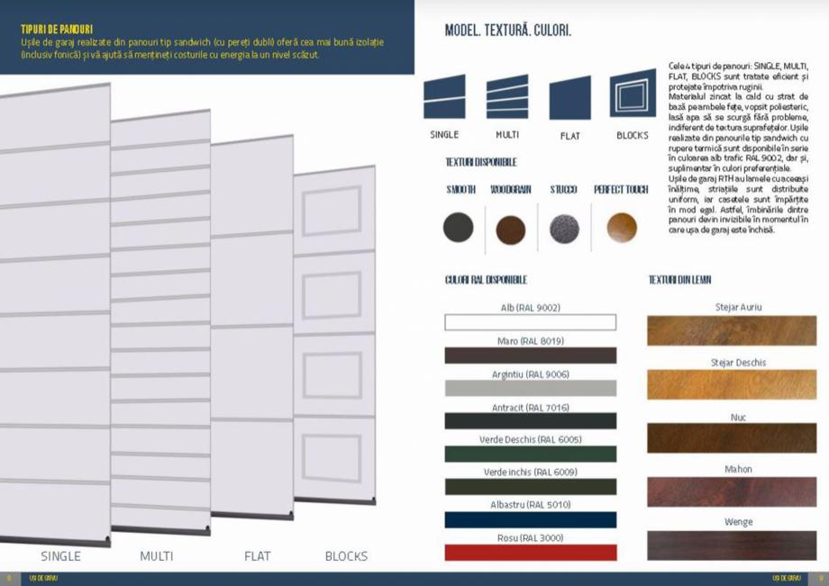 Pagina 5 - Usi de garaj rezidentiale Vindem Ieftin Catalog, brosura Romana