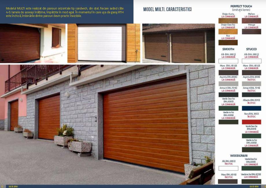 Pagina 7 - Usi de garaj rezidentiale Vindem Ieftin Catalog, brosura Romana