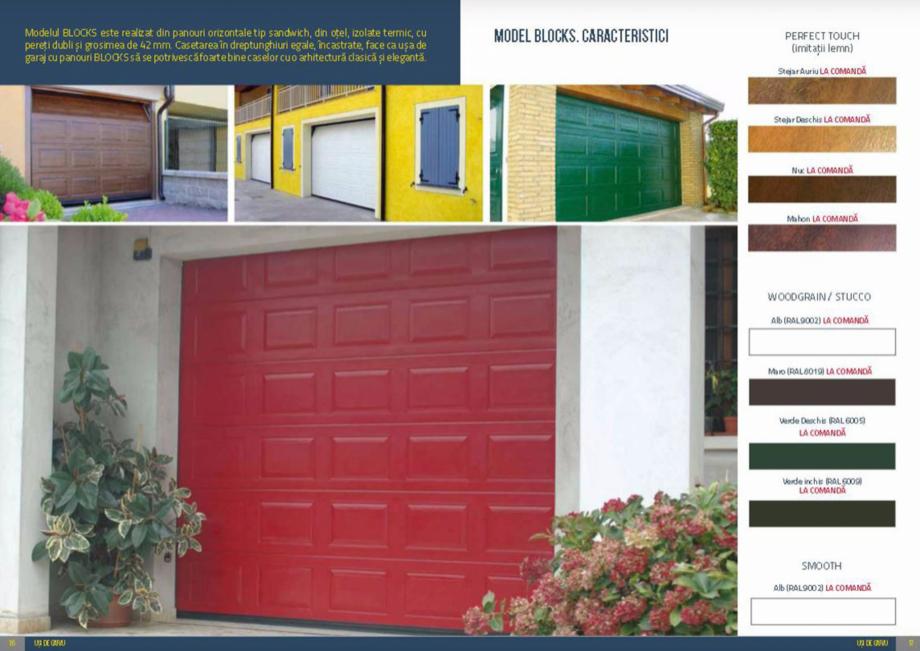 Pagina 9 - Usi de garaj rezidentiale Vindem Ieftin Catalog, brosura Romana