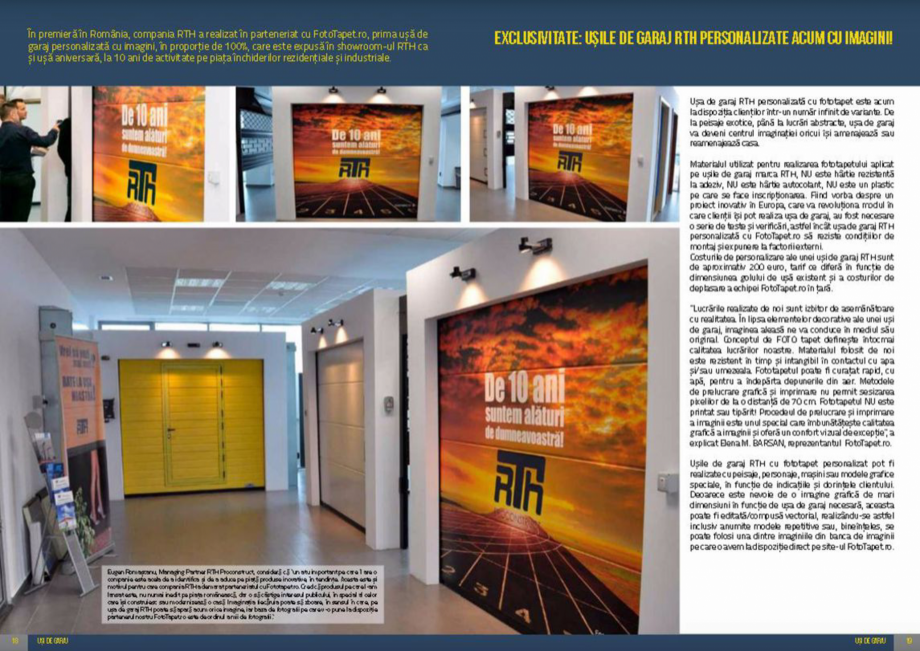 Pagina 10 - Usi de garaj rezidentiale Vindem Ieftin Catalog, brosura Romana