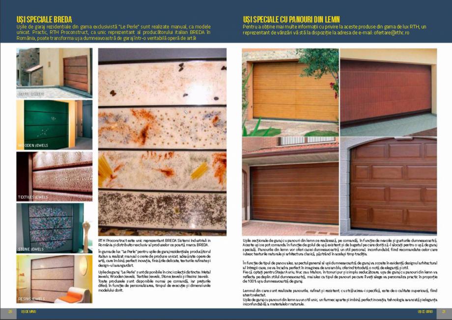 Pagina 11 - Usi de garaj rezidentiale Vindem Ieftin Catalog, brosura Romana