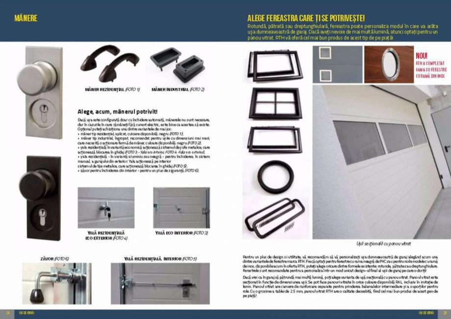 Pagina 13 - Usi de garaj rezidentiale Vindem Ieftin Catalog, brosura Romana