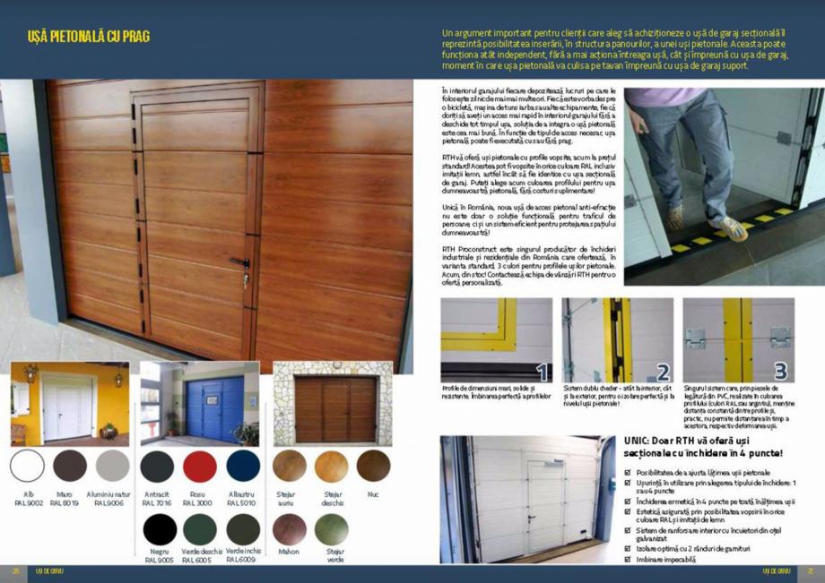 Pagina 14 - Usi de garaj rezidentiale Vindem Ieftin Catalog, brosura Romana