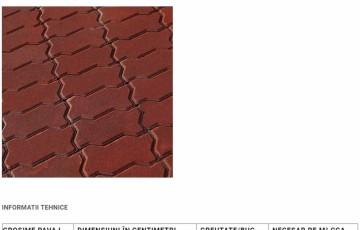 Pavaj din beton SYMMETRICA