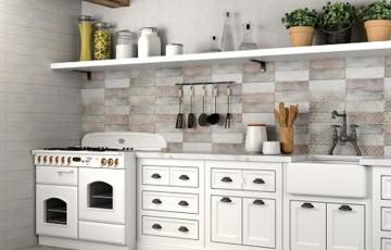 Seturi de faianta pentru spatii interioare Placi ceramice destinate finisarii peretilor din baia sau bucataria dumneavoastra.