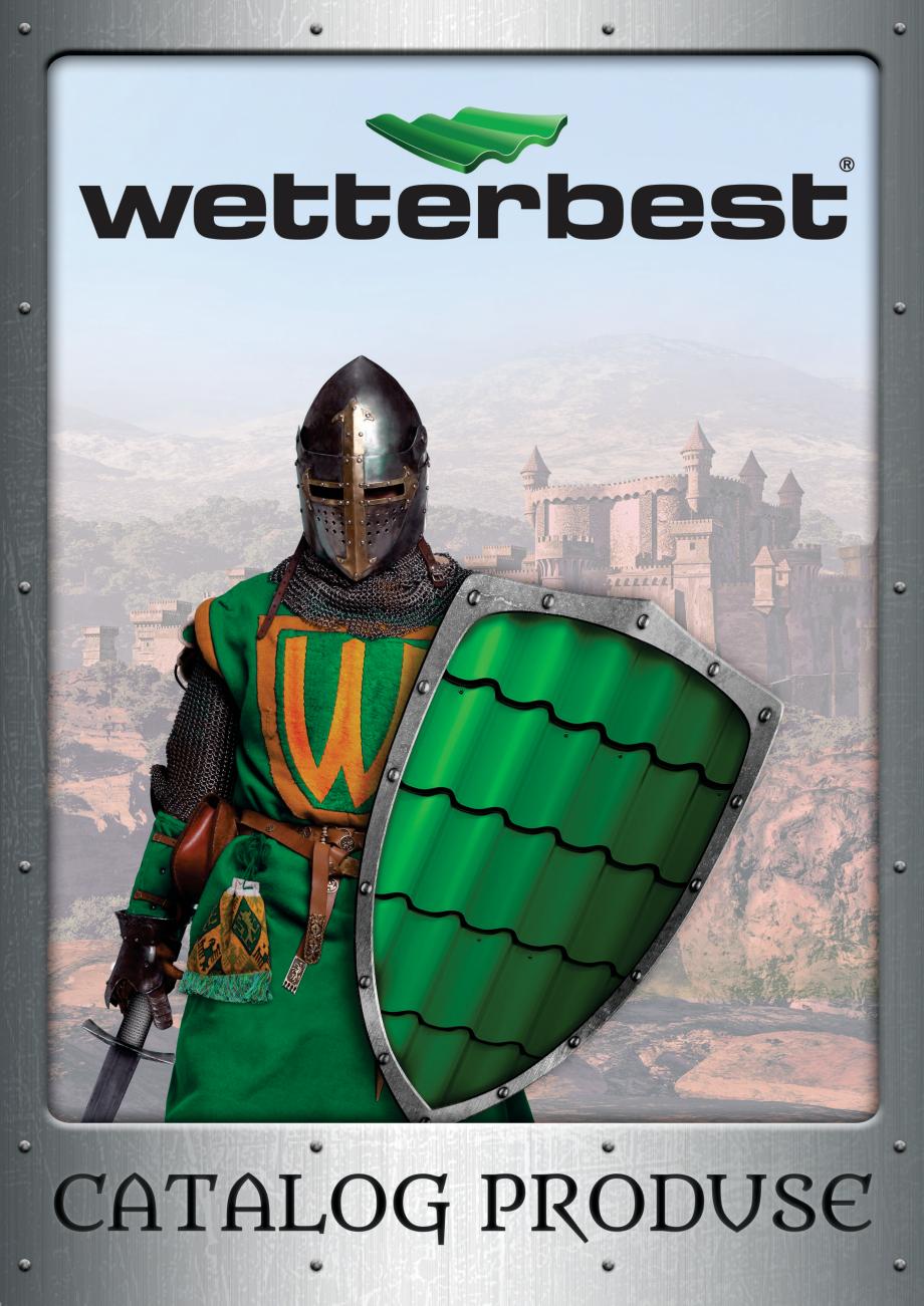 Pagina 1 - Catalog de produse Wetterbest Gladiator, Colloseum, Plus, Clasic, Wind Catalog, brosura...
