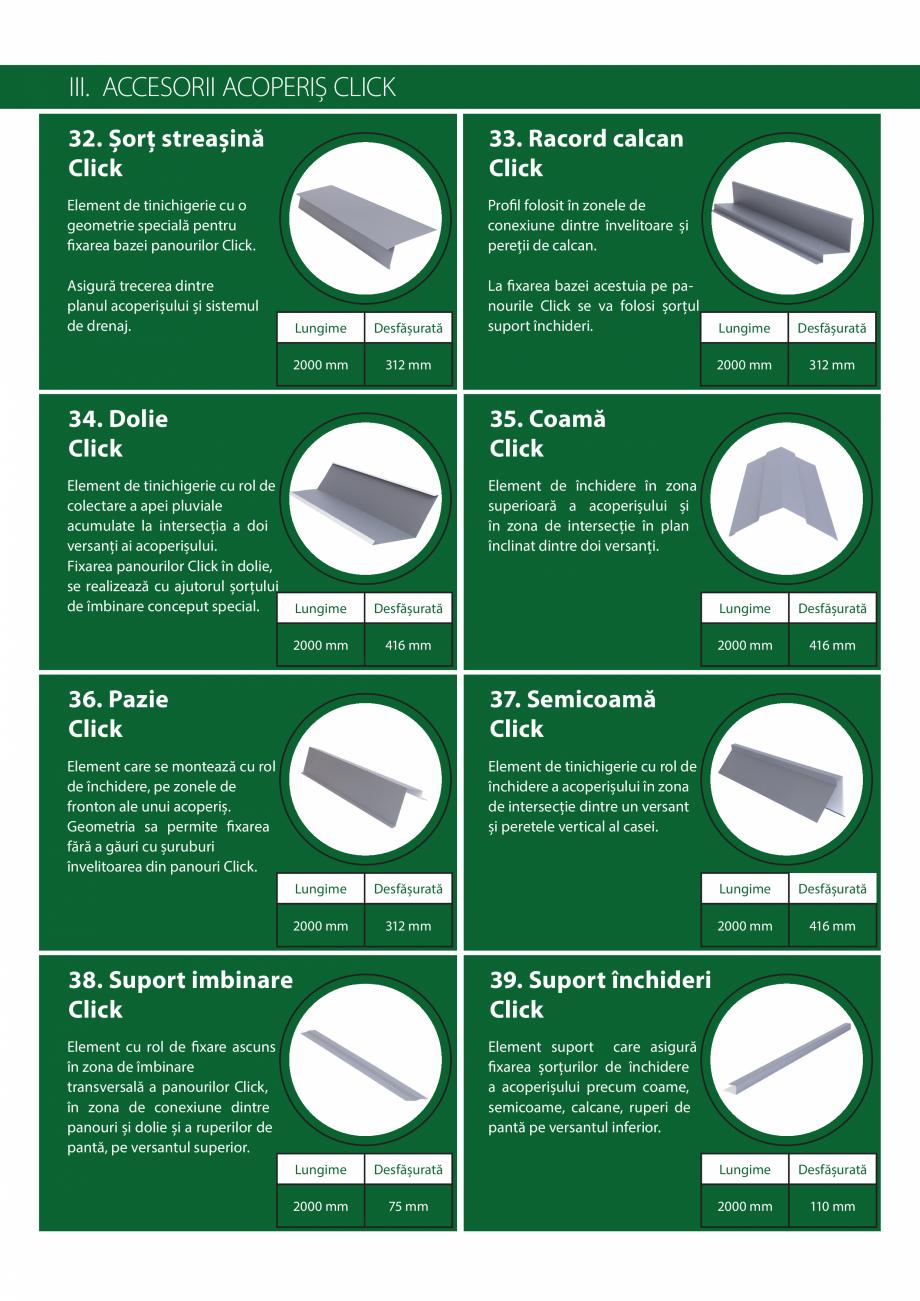 Pagina 14 - Catalog de produse Wetterbest Gladiator, Colloseum, Plus, Clasic, Wind Catalog, brosura ...