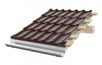 Tigla metalica RoofArt ofera o garantie extinsa de pana la 30 de ani pentru acoperisurile cu tigla metalica.