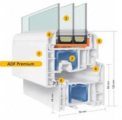Ferestre din PVC ADF