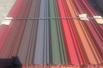 Sipca metalica zincata si colorata pentru gard Vindem Ieftin