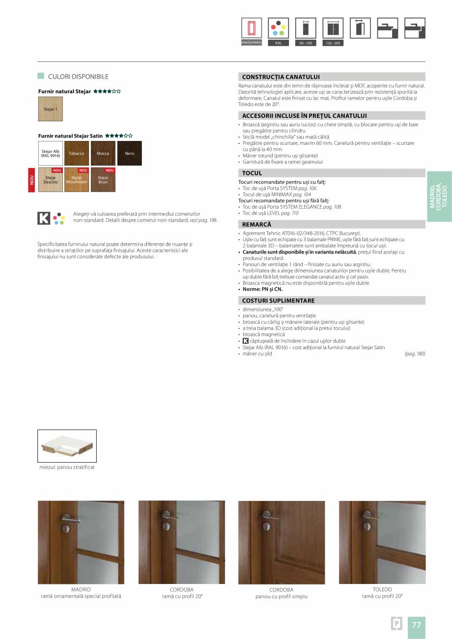 Pagina 73 - Usi rezidentiale pentru interior Vindem Ieftin Londra grila mare, Londra grila mica, 589...
