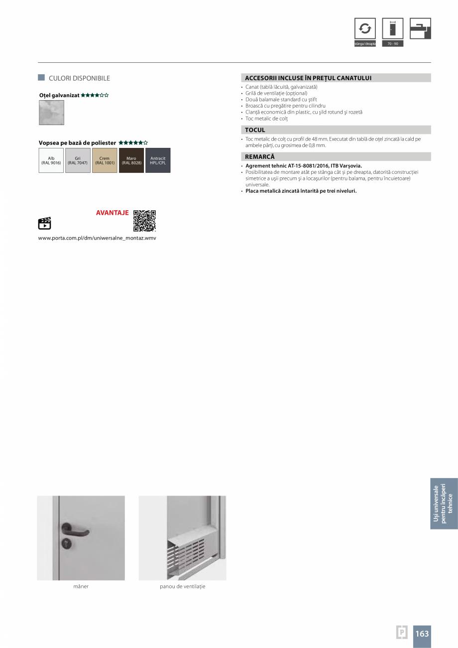 Pagina 163 - Usi rezidentiale pentru interior Vindem Ieftin Londra grila mare, Londra grila mica,...