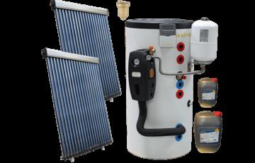 Panouri solare termice pentru prepararea apei calde menajere Principiul de functionare al panoului solar termic pentru prepararea apei calde menajere consta in captarea energiei solare si transformarea acesteia in energie termica.