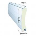 Profil P55 - Usi de garaj tip rulou