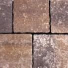 Rosu vulcanic - Pavaj din beton - Appia Antica