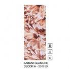 Sabuni Glamure Decor A 20 x 50 cm - Set de faianta pentru interior Sabuni