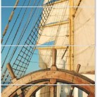 Wheel Komplet 100 x 60 cm - Set de faianta pentru interior Wheel Yacht