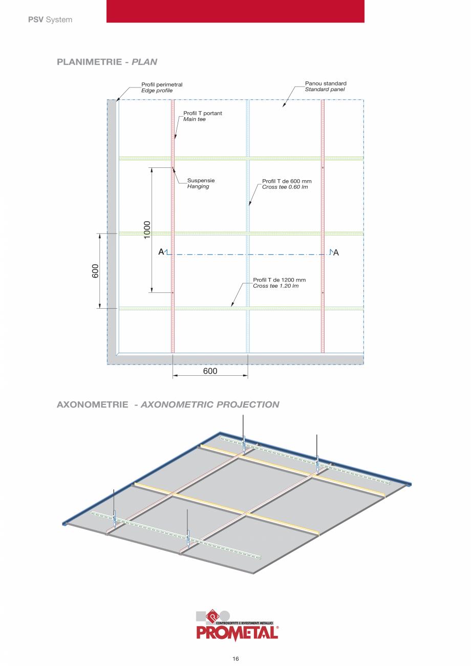 Pagina 16 - Panouri cu structura la vedere PROMETAL Catalog, brosura Romana AND FACTORY: VIA...