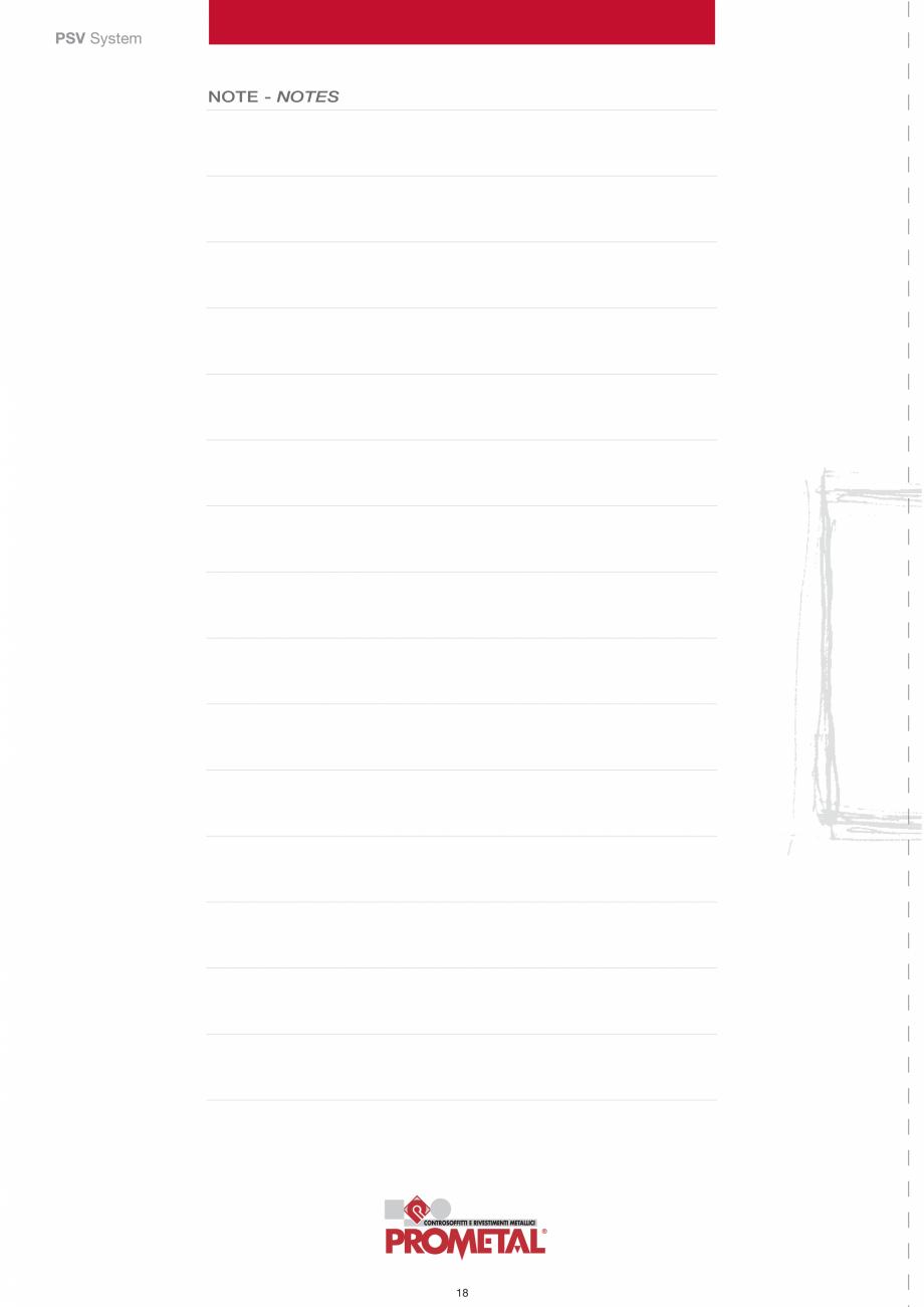 Pagina 18 - Panouri cu structura la vedere PROMETAL Catalog, brosura Romana