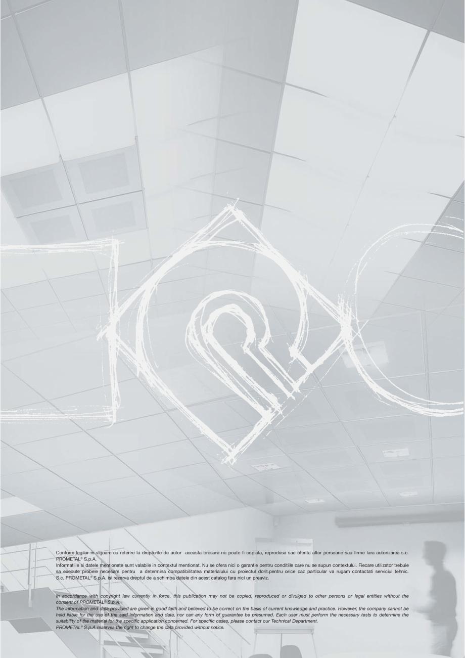 Pagina 19 - Panouri cu structura la vedere PROMETAL Catalog, brosura Romana