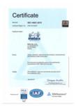 Certificat ISO 14001:2015 pentru autoutilitare electrice ecologice MELEX - 391.1