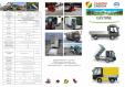 Caracteristici tehnice pentru autoutilitare electrice ecologice ESAGONO ENERGIA - PICK-UP GASTONE